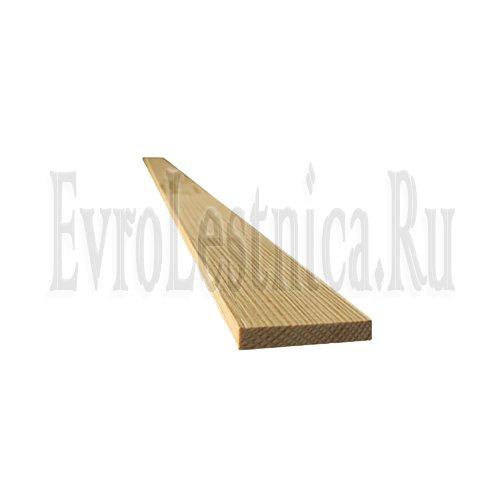 Планка-накладка для подбалясенника из сосны