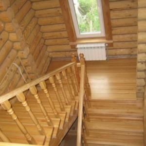 Лестница из лиственницы - Бутынь