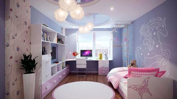 Особенности ремонта в детской комнате
