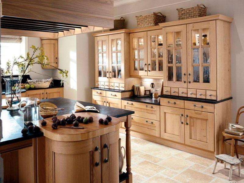 Винтажный стиль в интерьере кухни